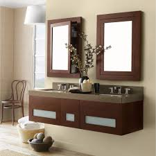 Wall Mount Vanity Sink Bathroom Winsome Bathroom Interior Decor Completed With Chic