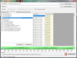 http access log analyzer sitecore log analyzer scla sitecore marketplace