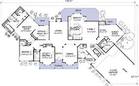 house plans with in suite ranch home plans with inlaw apartment home pattern