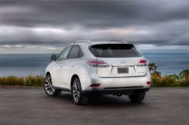 lexus rx exhaust 2013 lexus rx 350 f sport first drive automobile magazine
