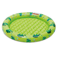 sizzlin u0027 cool one ring pool with inflatable floor green toys
