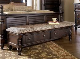 Foot Of Bed Storage Bench Bedroom Incredible White Bed Bench Storage Ideas Home Seat With