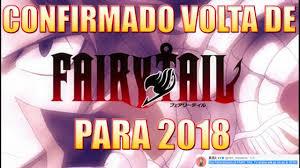anúncio confirmado volta do anime fairy tail para 2018 back of the