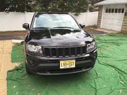 Jeep Compass North Price Plastidipped Jeep Compass Jeep Compass Black Plastidip