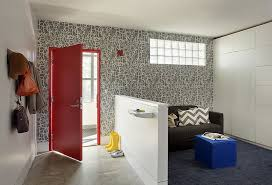 Contemporary Wallpaper For Bathrooms - 25 gorgeous entryways clad in wallpaper