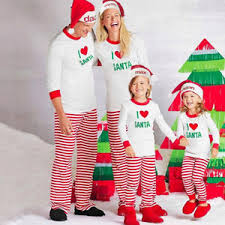 uk stock family matching pajamas pjs sets sleepwear