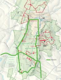 Gettysburg Map Dc Randonneurs Blog Archive Cue Sheet Gps Files And