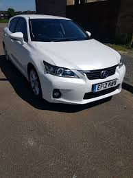 lexus ct200 hybrid lexus ct200h hybrid fully loaded sat nav leather in leicester