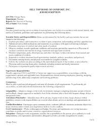 Charge Nurse Resume Sample Rn Resume Long Term Care Contegri Com