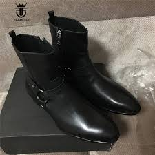 2017 new genuine leather handmade high top west justin luxury men