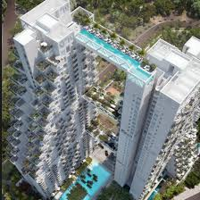 singapore apartments iconic singapore apartment complex with swimmable bridge news
