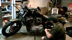 harley davidson nightster battery replacement youtube