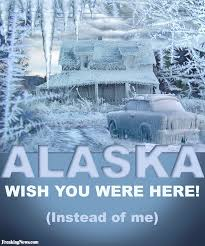 frozen alaska tourism poster pictures freaking news