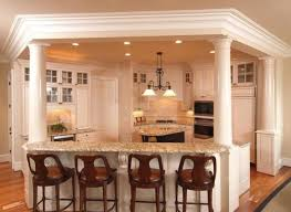 kitchen island columns decorative columns for kitchen island decorative columns for