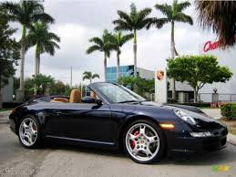 porsche 911 convertible 2005 2005 midnight blue metallic porsche 911 carrera s cabriolet