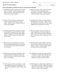 sample word problem worksheets lukex co