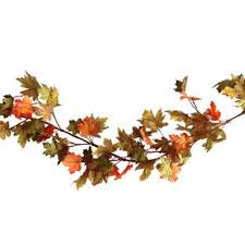 maple leaf garland with lights lighted fall leaf garland wayfair