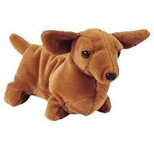 ty beanie baby weenie the dachshund dog 7 5 inch bbtoystore