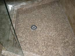 fair porcelain tile for shower floor in home interior design ideas