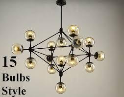 5 10 15 globe jason miller modo chandelier replica light l