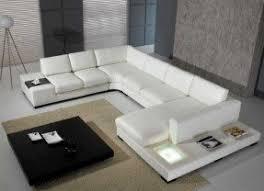 Leather Living Room Sets Foter - White leather living room set