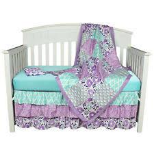 Dahlia Nursery Bedding Set Purple Nursery Bedding Sets Ebay