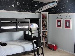 boy bedroom ideas which comes with interesting design amaza design appealing contemporary boy bedroom ideas with white twin bunk bed on black platform bed furnished with