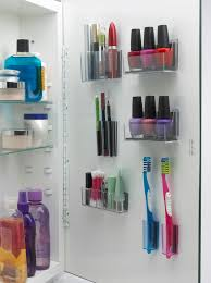 magnapods help you organize items in your medicine cabinet i