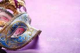 pink mardi gras mask mardi gras masks on a purple background stock photo more