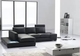 Microfiber Contemporary Sofa Interesting Saving Space With Modular Sectional Sofa Furniture