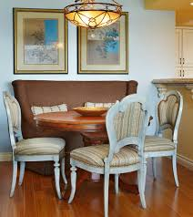 how to create a stylish dining nook with a settee u2014 annsliee