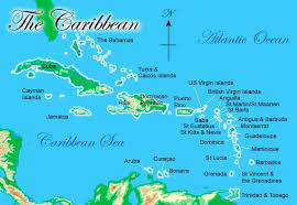 carribbean map caribbean maps maps of costa rica bahamas