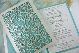 laser cut wedding programs laser cut wedding invites a popular paper trend bravobride