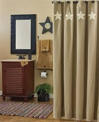 Dc Shower Curtain Country Shower Curtains With Matching Window Treatments Coffee