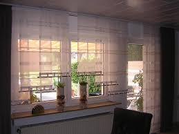 schiebegardinen kurz wohnzimmer vorhänge für große fenster besondere vorh nge f r grosse fenster