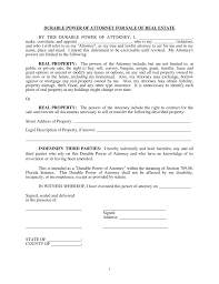 free florida real estate power of attorney form pdf eforms