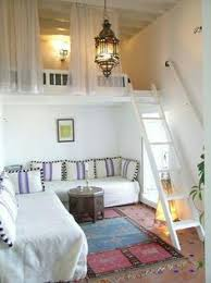 Clever Solution For A Very Small Flat Via PLANETE DECO My - Mezzanine bedroom design