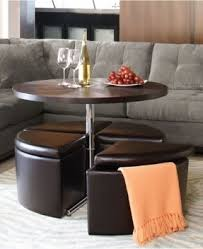 coffee table capitol coffee table with storage ottomans the