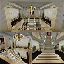 Minecraft Stairs Design Minecraft Glass Stairs Chandelier Staircase Minecraft Creations