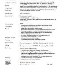 Security Manager Resume Samples by Supervisor Resume Skills Cv01 Billybullock Us