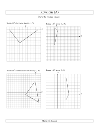 rotation of 3 vertices around any point a