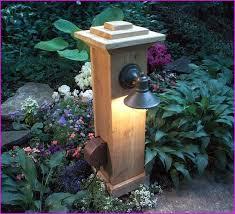diy outdoor lighting without electricity diy outdoor l post outdoor decor craft pinterest outdoor