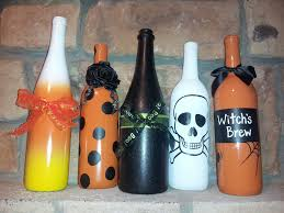 Milk Jug Crafts Halloween by My Halloween Wine Bottle Crafts Pinterest Success Trick Or