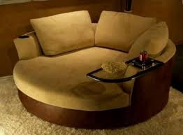 swivel cuddle chair sofa brown round swivel chair jen joes design how to build round