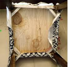 How To Cover A Chair Home Dzine Home Diy Upholster Your Made Dining Chairs