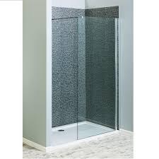 savisto 1700mm x 700mm walk in shower screen enclosure pack 8mm thick