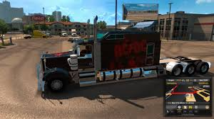 kenworth shop kenworth w900b long v 1 1 5 mod for american truck simulator ats