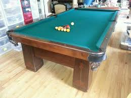 brunswick bristol 2 pool table 1926 brunswick balke collender antique pool table 4 1 2 x 9