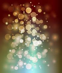 Decorative Trees With Lights Decorative Christmas Lights Background Royalty Free Stock Image