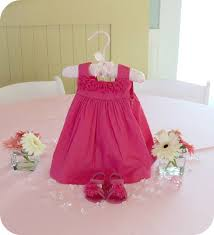 baby shower table decoration baby shower table with girl pink dress founterior